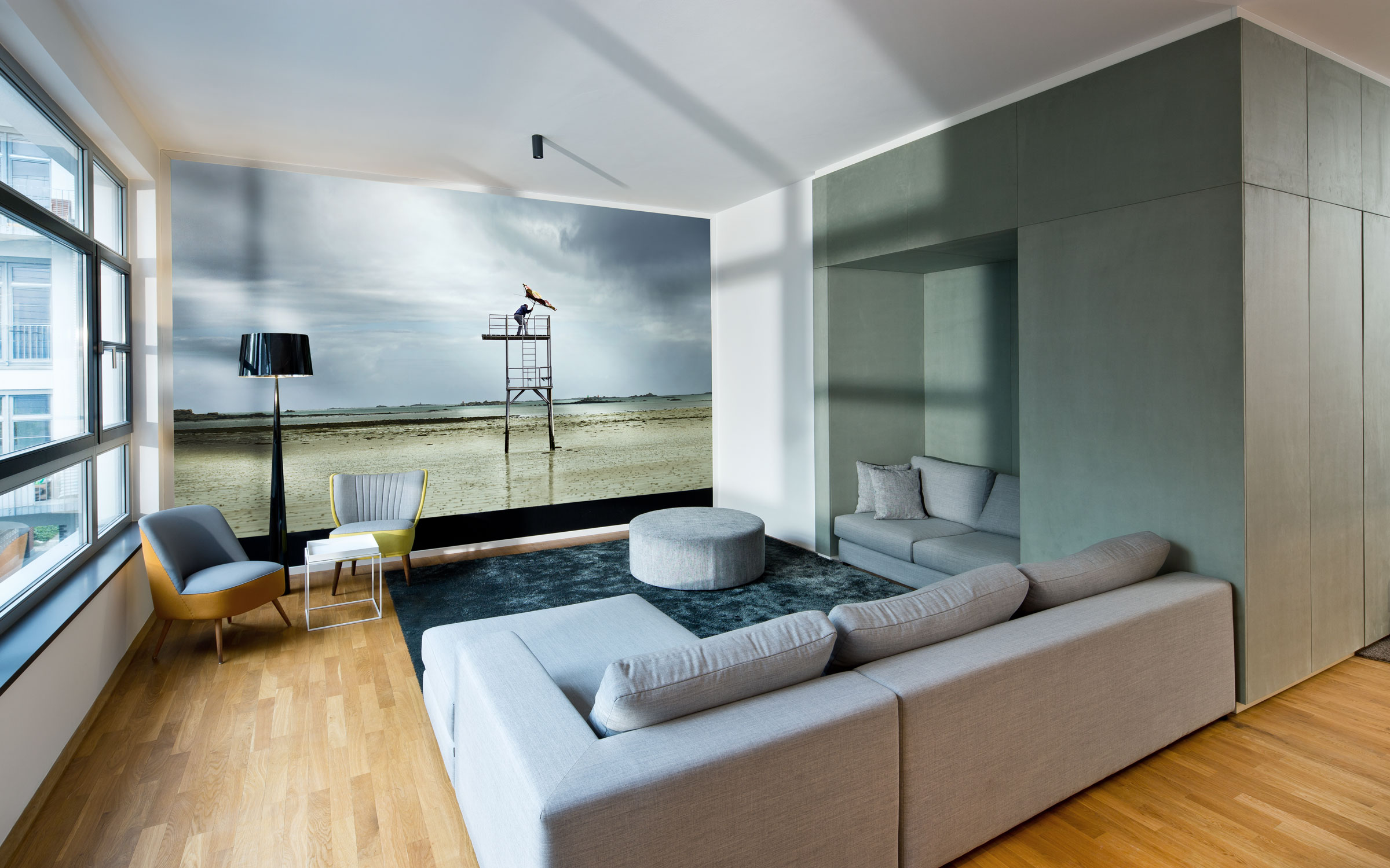 Cityloft Berlin Wohnbereich