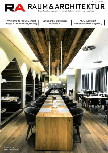 Presse, Cover, Raum-und-Architketur, Sansibar