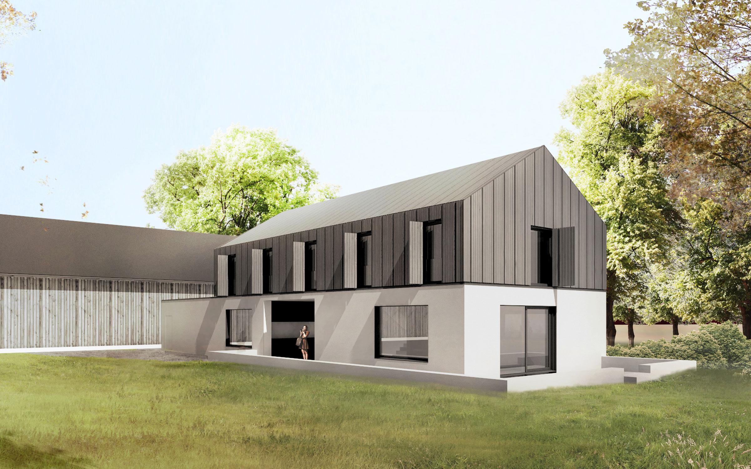 Hofgut neubau dia dittel architekten for Architektur wohnen