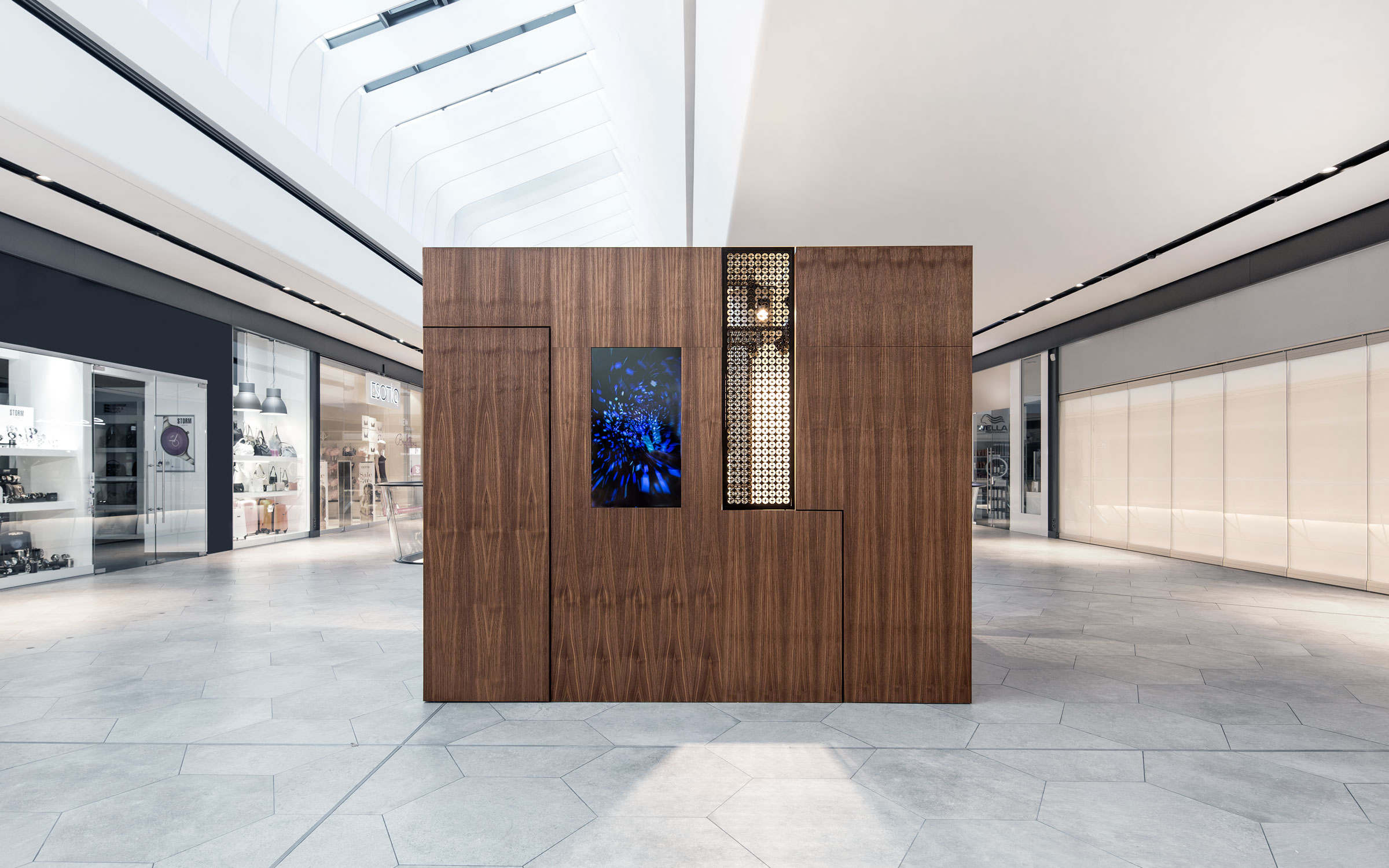 Pop up box dia dittel architekten for Interior design in a box