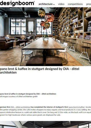 designboom online - pano brot & cafe