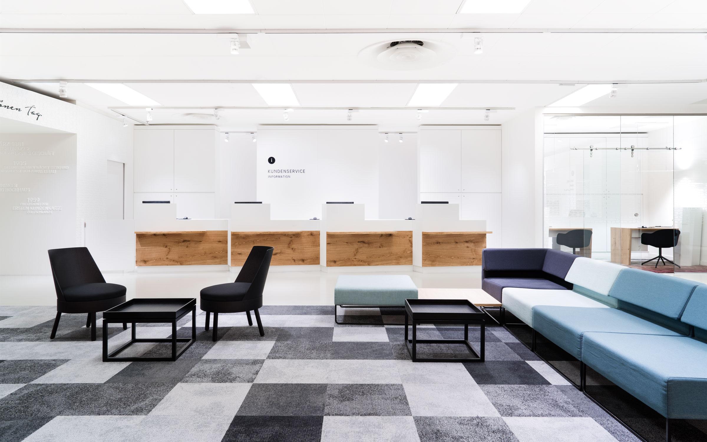 Breuninger Kundenservice, Lounge