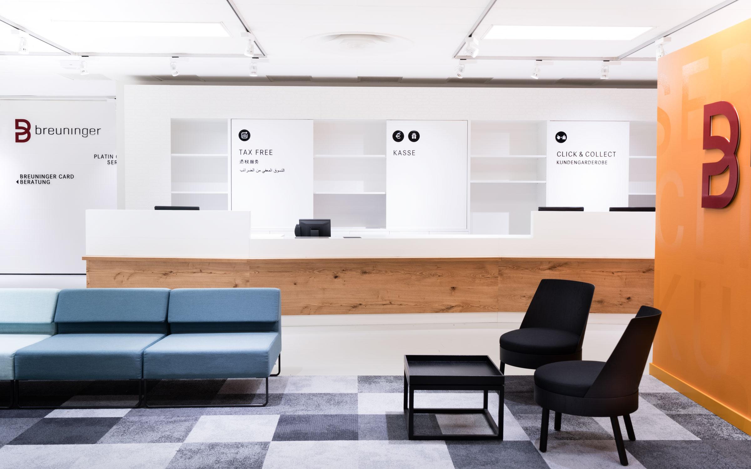 Breuninger Kundenservice, Service