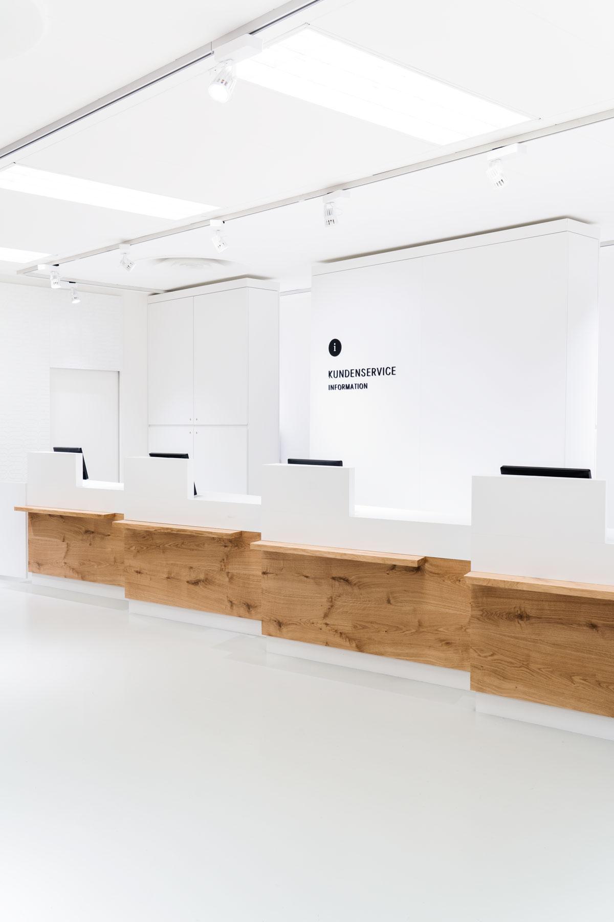 Breuninger Kundenservice, Counter