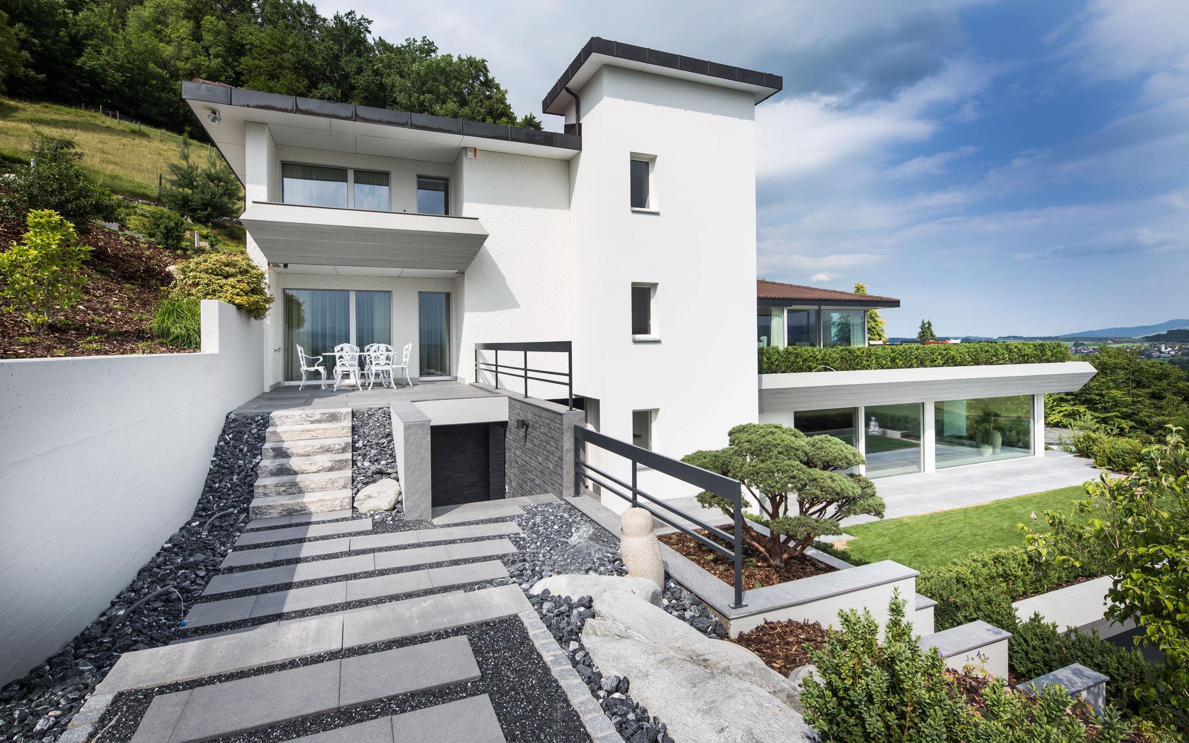 Villa T Aussenansicht