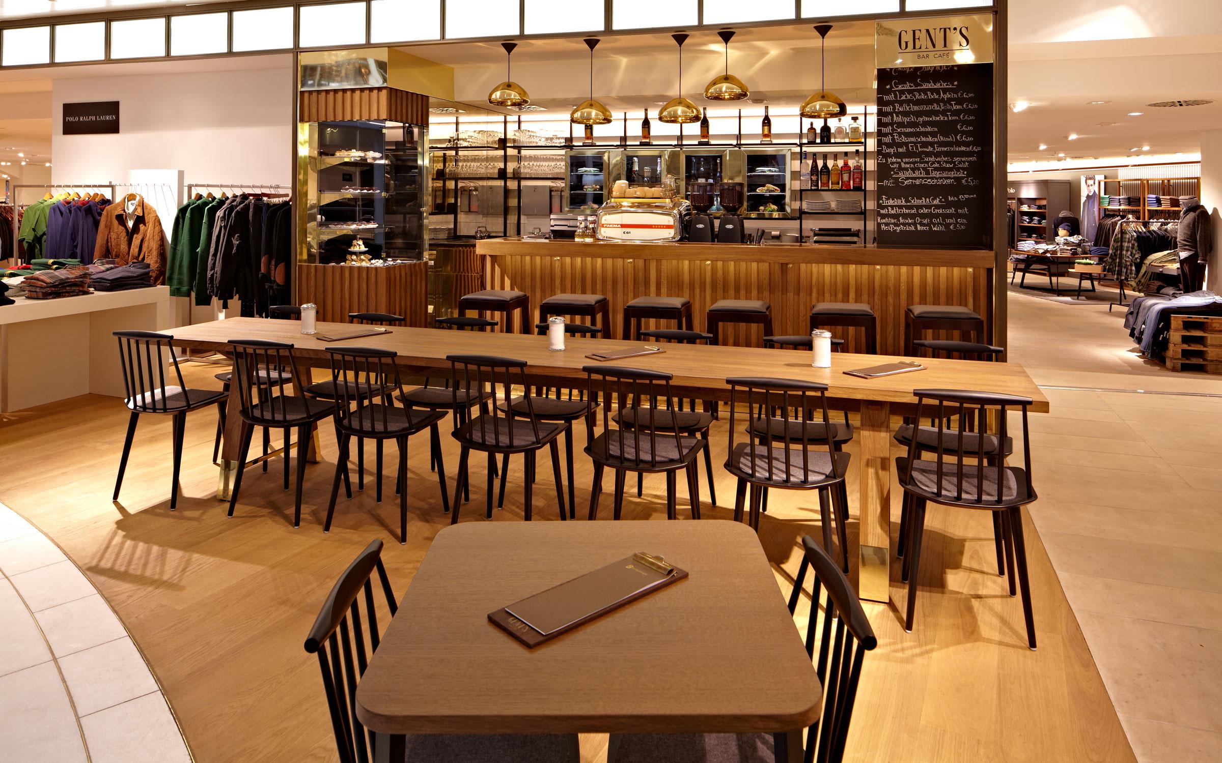 Cafe Gents Breuninger, Bar