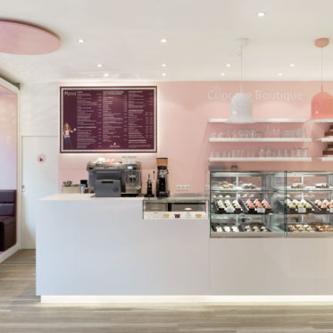 Cupcake Boutique, Raum