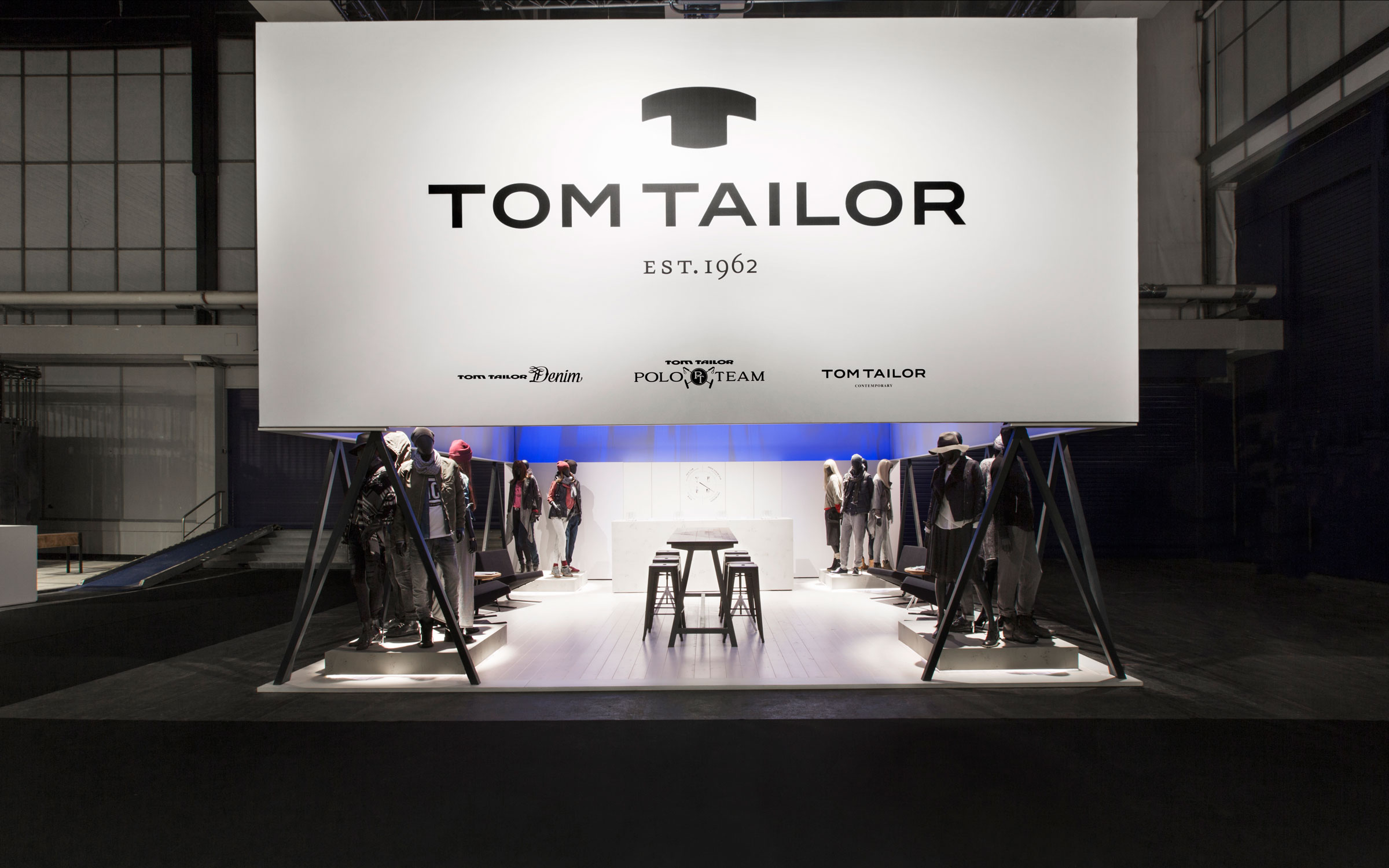 Tom Tailor Modefabriek, Messestand