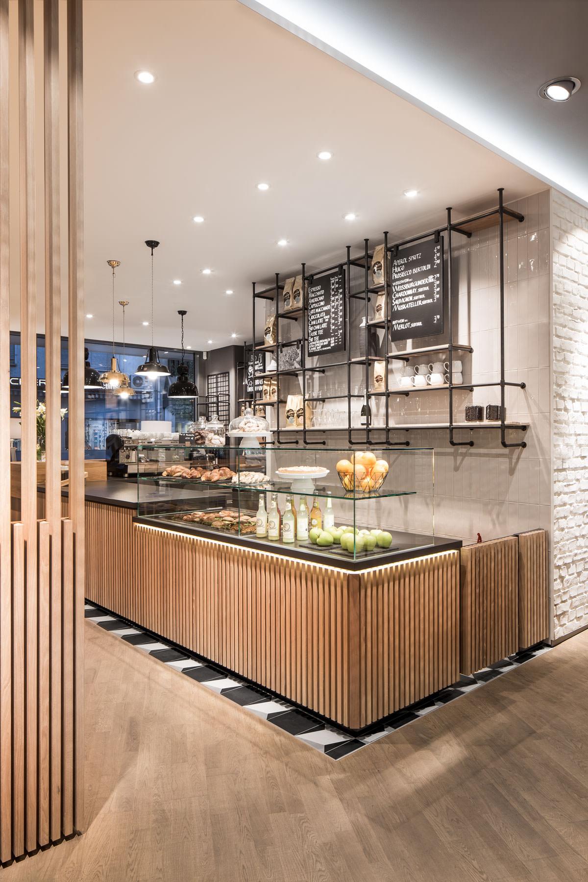 Primo cafe bar t bingen dia dittel architekten for Restaurant design innenarchitektur