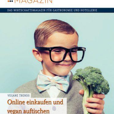 Presse, Cover, Gastgewerbe Magazin