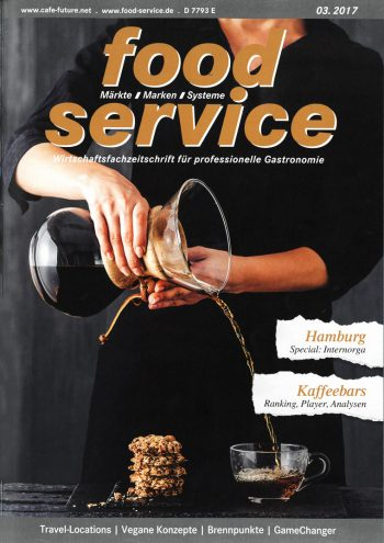 food service, Presse, Cover