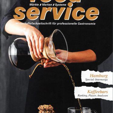 food service, Presse, Cover