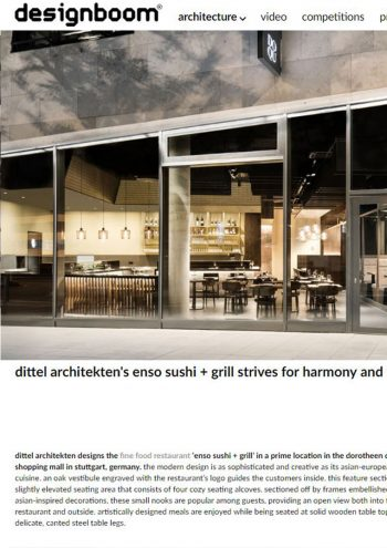 designboom online - Enso Sushi & Grill