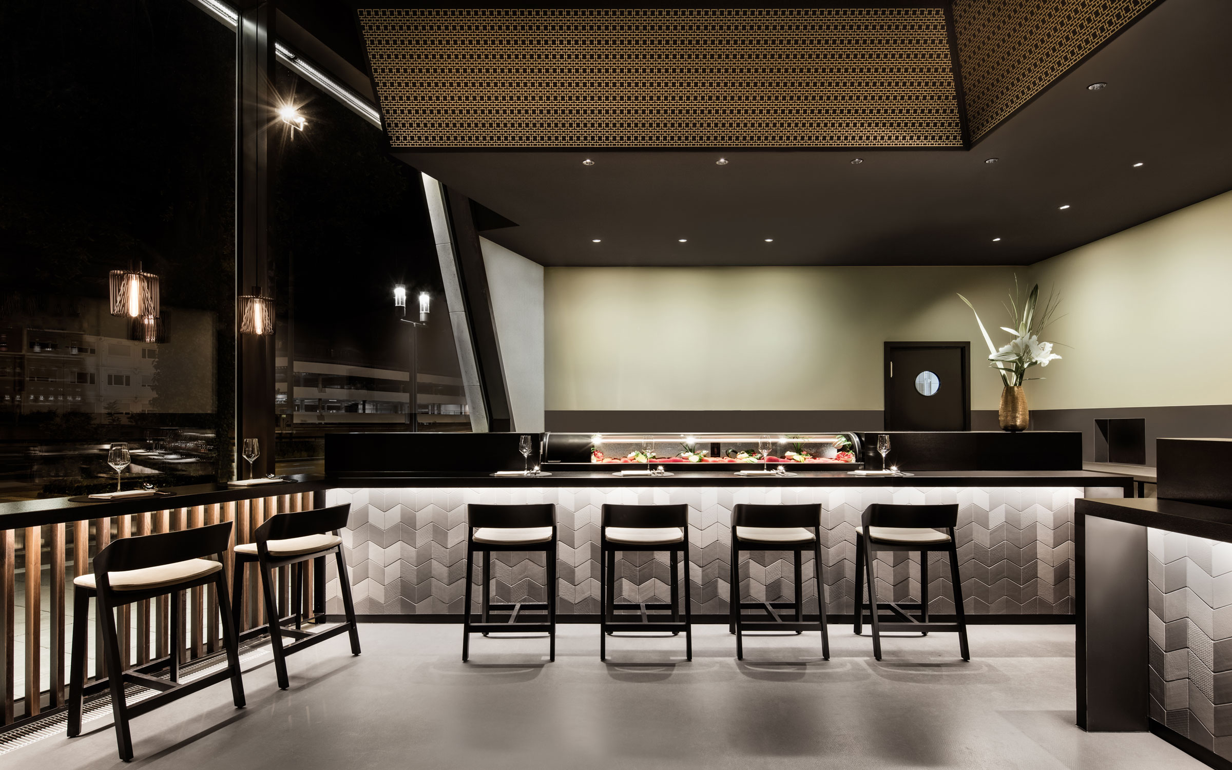 Enso Sushi & Grill, Bar, Theke