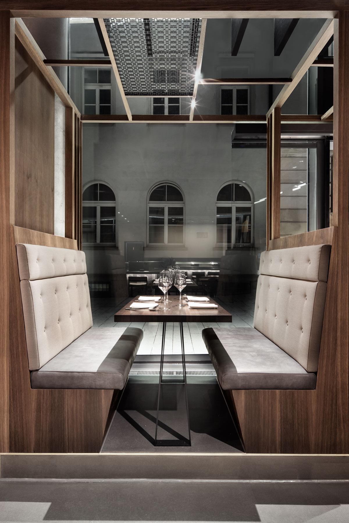 Enso Sushi & Grill, Sitzecke
