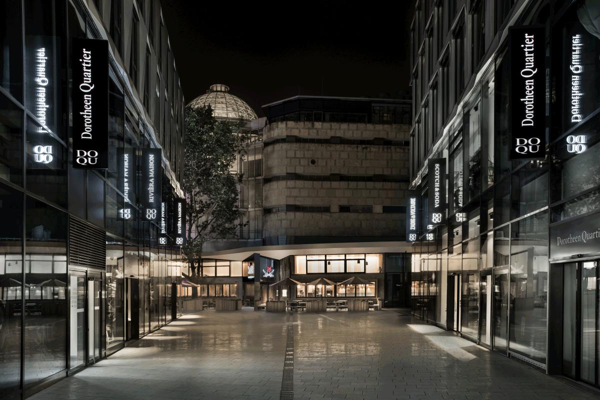 Sansibar by Breuninger, Blick auf Gebäude