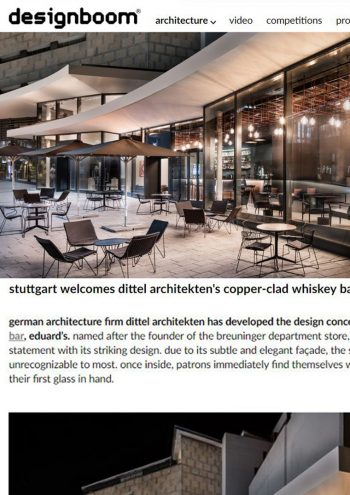 designboom online - Bar Eduard's
