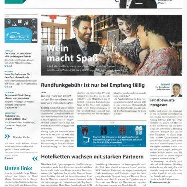 Cover, Presse, AHGZ