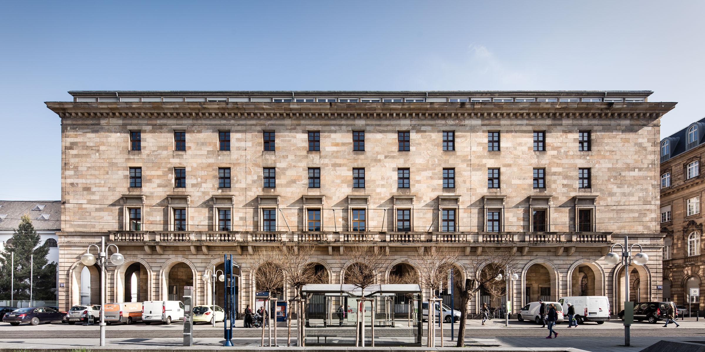 Rathaus mannheim dia dittel architekten for Designhotel mannheim