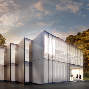 Innovationszentrum - Rendering