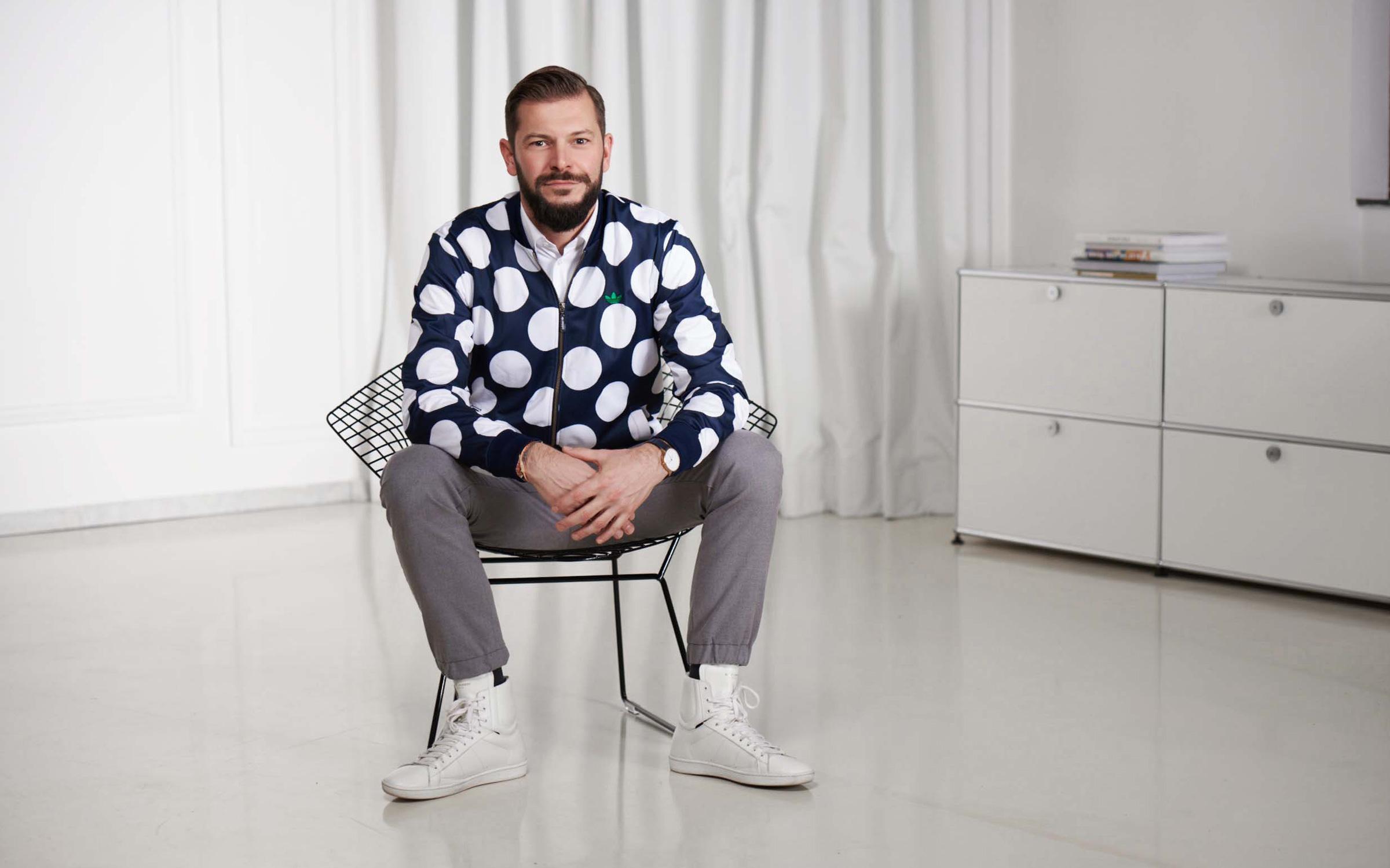 Portrait Dominik Schaefer, Dittel Architekten, Foto: Victor Goico