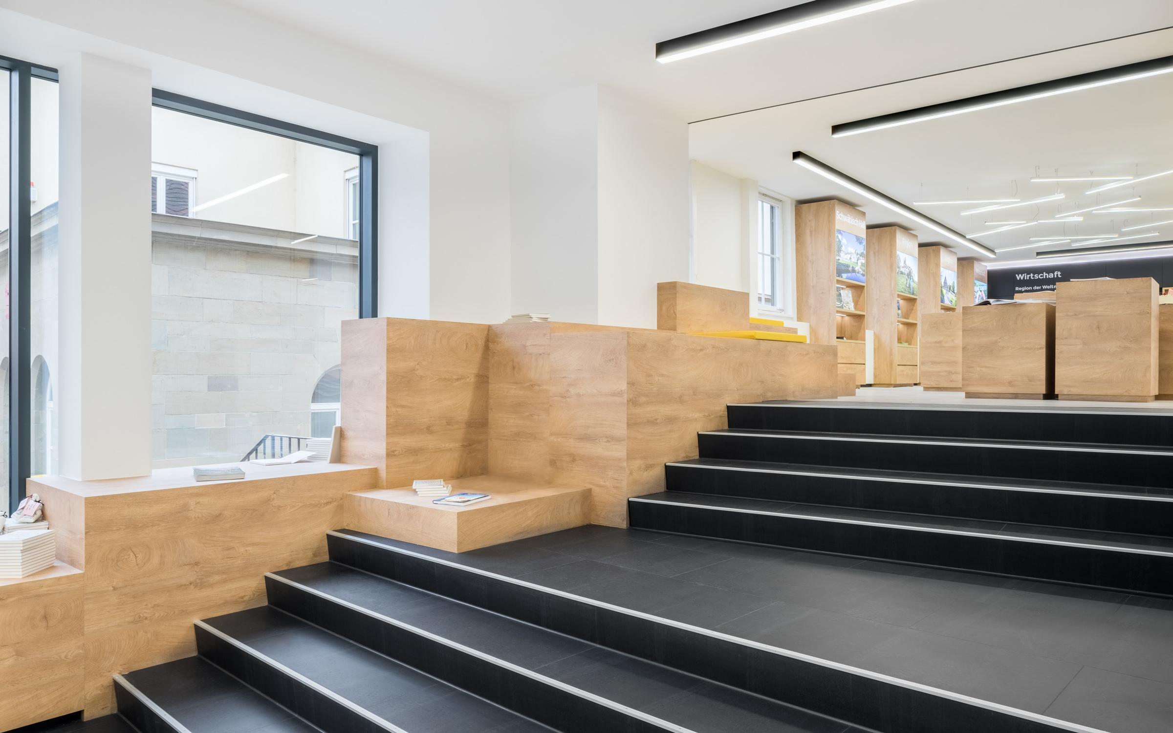 touristinformation schw bisch hall dia dittel architekten. Black Bedroom Furniture Sets. Home Design Ideas