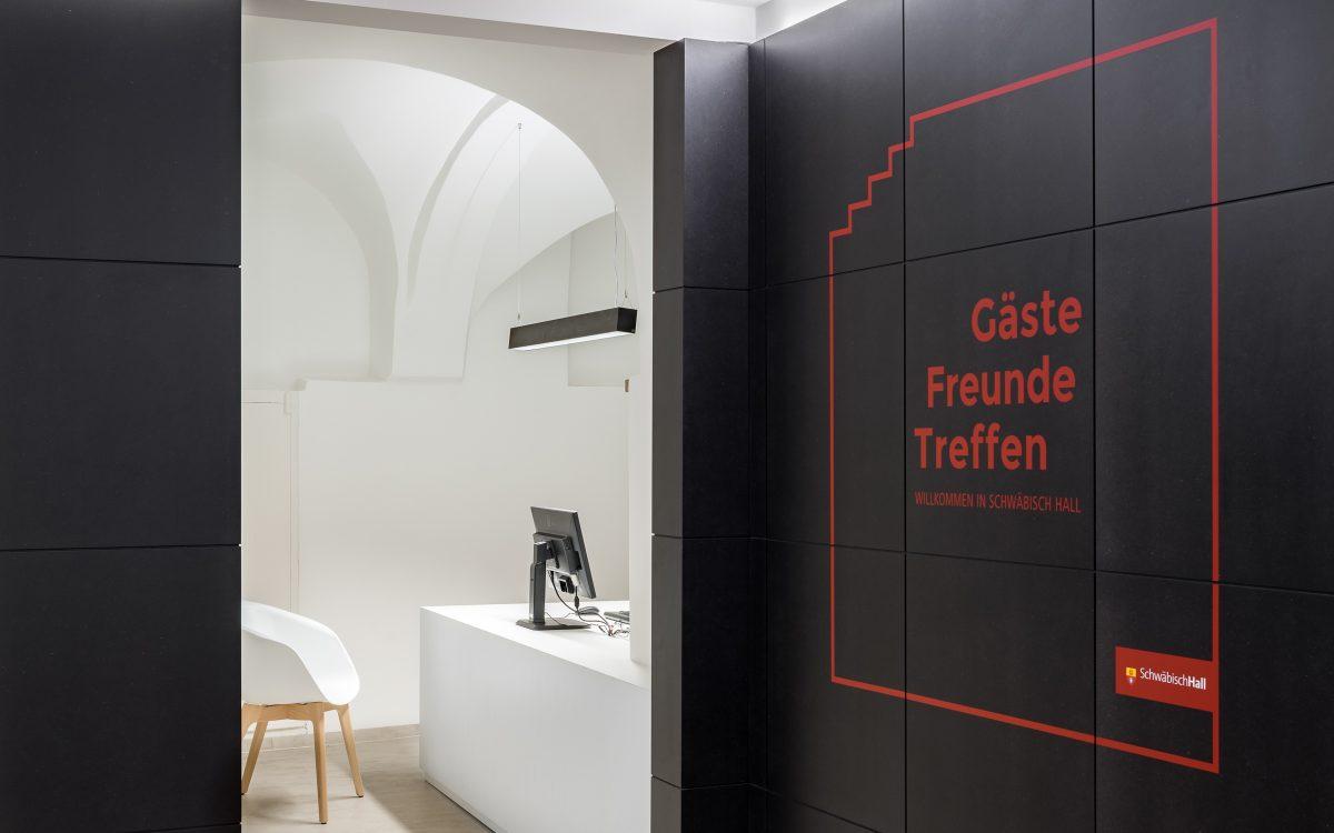 Touristinformation Schwäbisch Hall, Büro, Foto: Daniel Vieser
