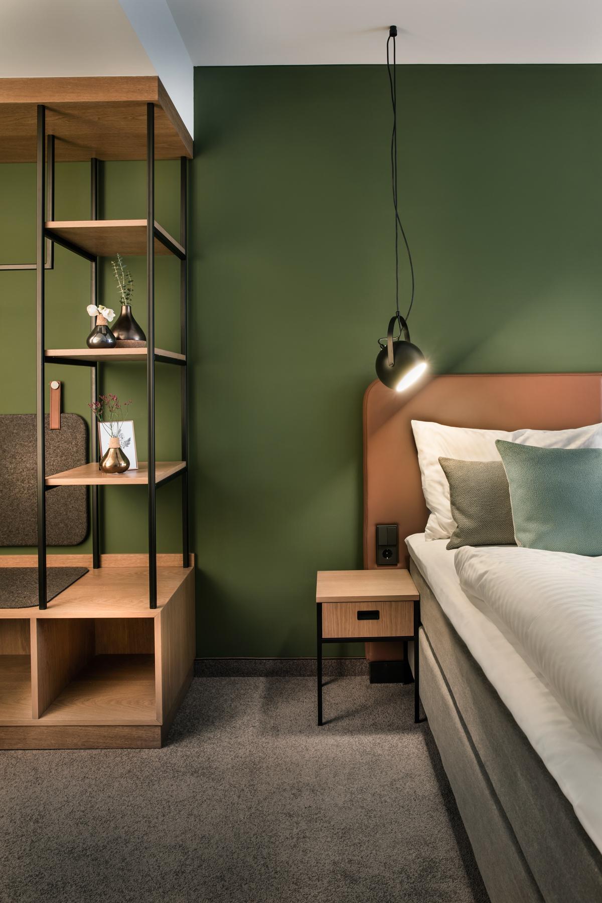 Hotel Domizil, Zimmer, Bett