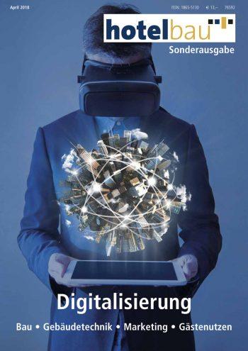 presse cover, hotelbau Digitalisierung