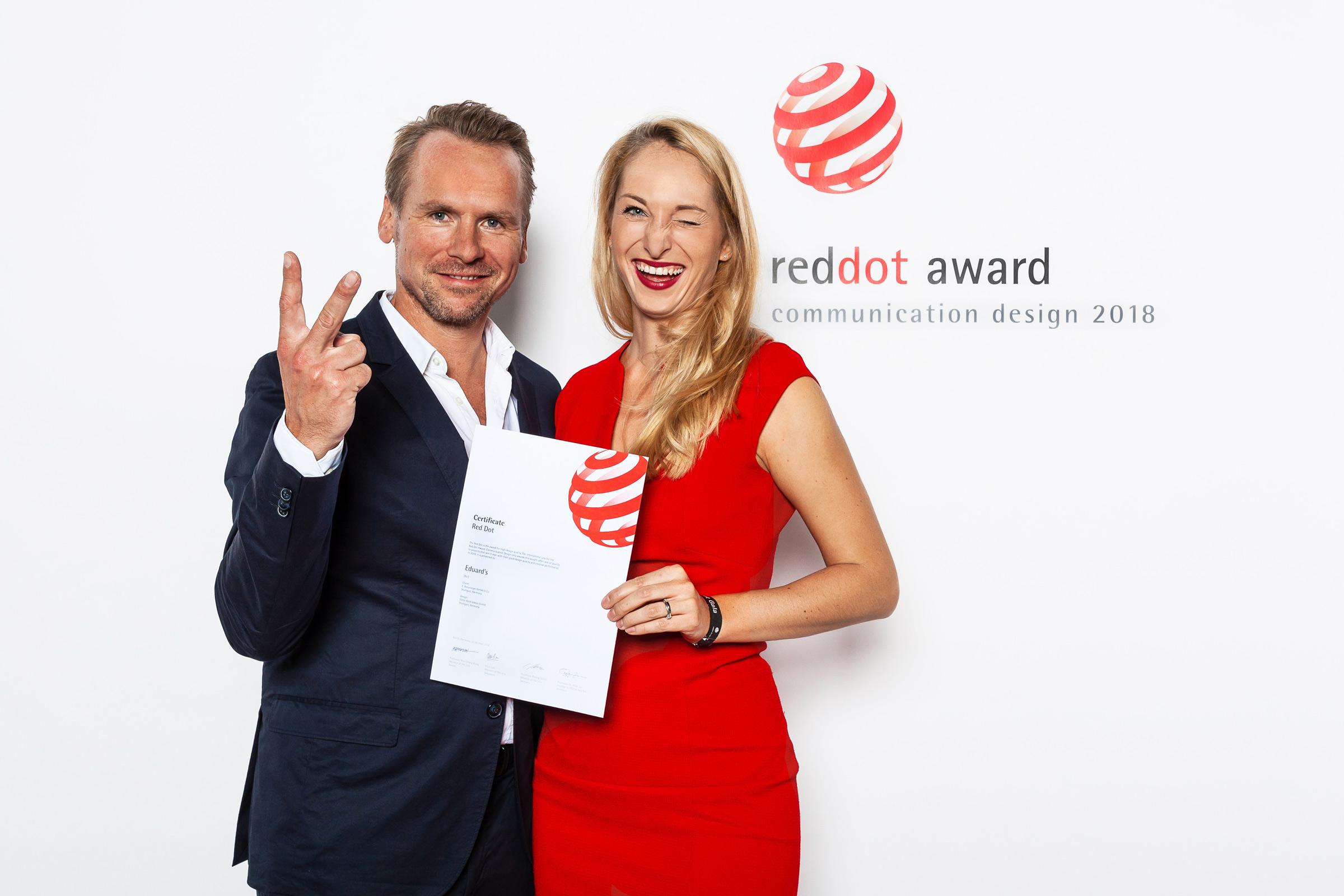 Red Dot Award, Preisverleihung
