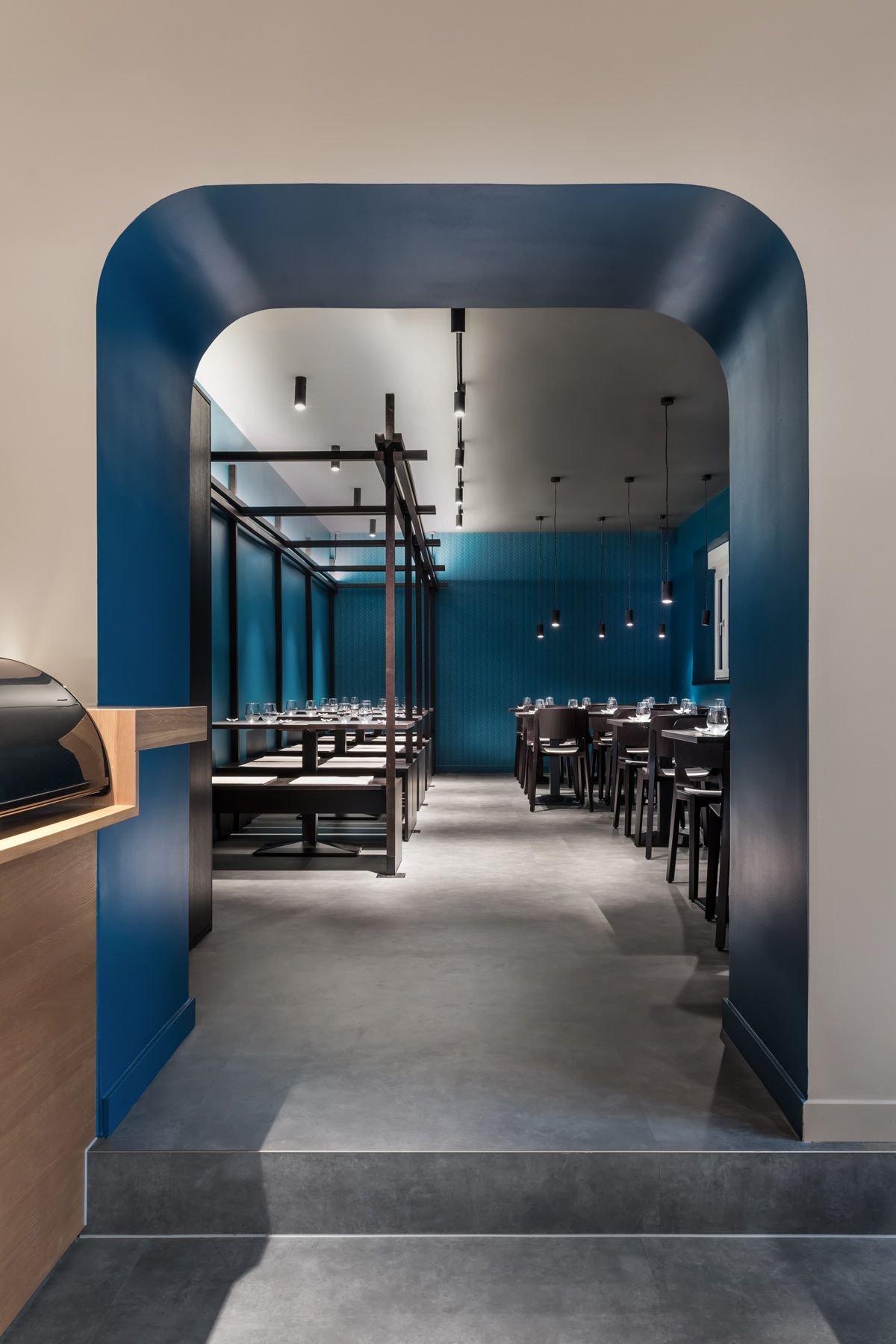 dittelarchitekten, Akeno Restaurant