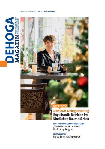Presse cover, DEHOGA Magazin