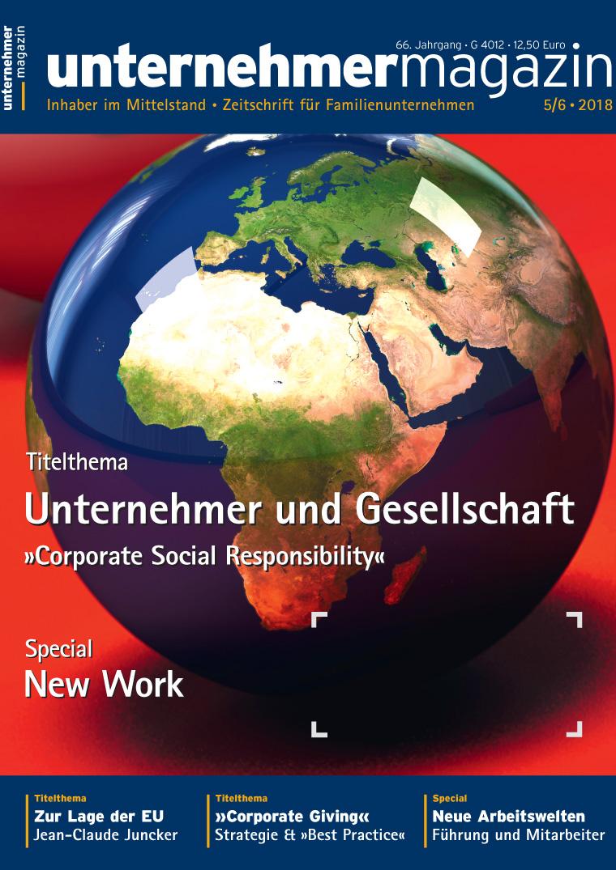 Presse Cover unternehmermagazin