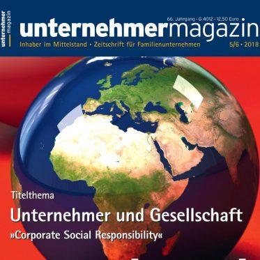 Presse Cover, unternehmermagazin
