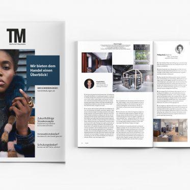 Presse, cover, READ Textilmitteilungen