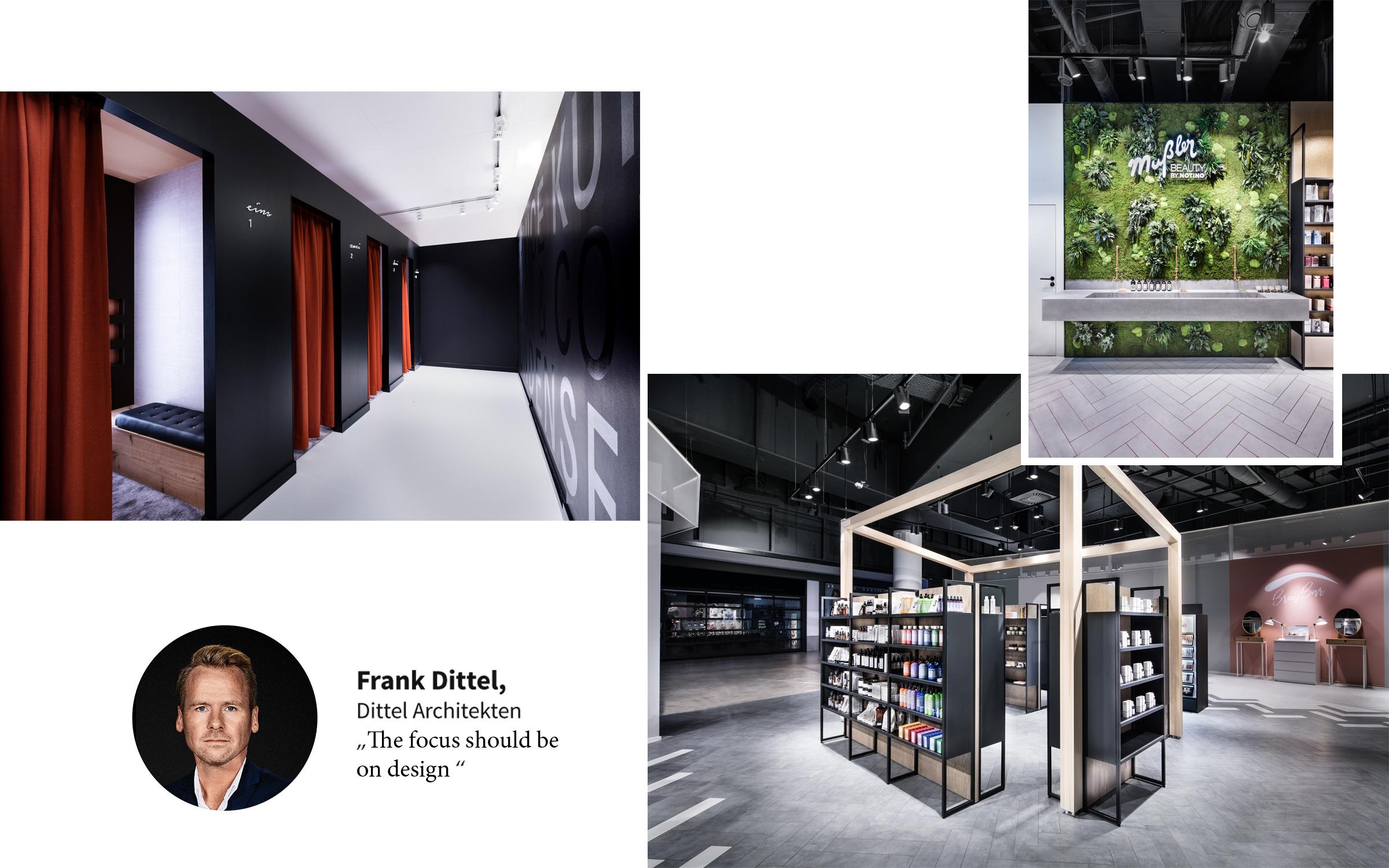 Presse Textilmitteilungen, Photos Dittel Architekten