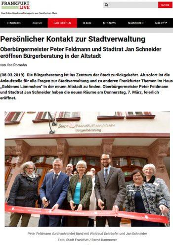 Presse Cover, Frankfurt Live