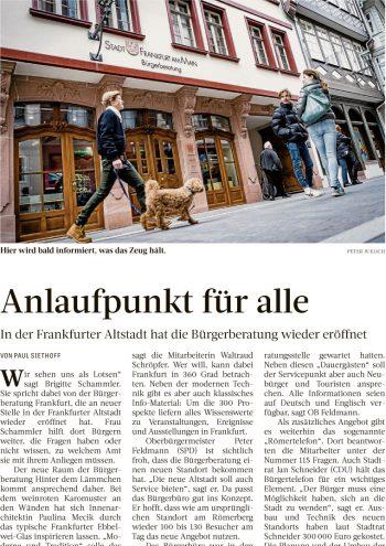 Presse Cover, Frankfurter Rundschau