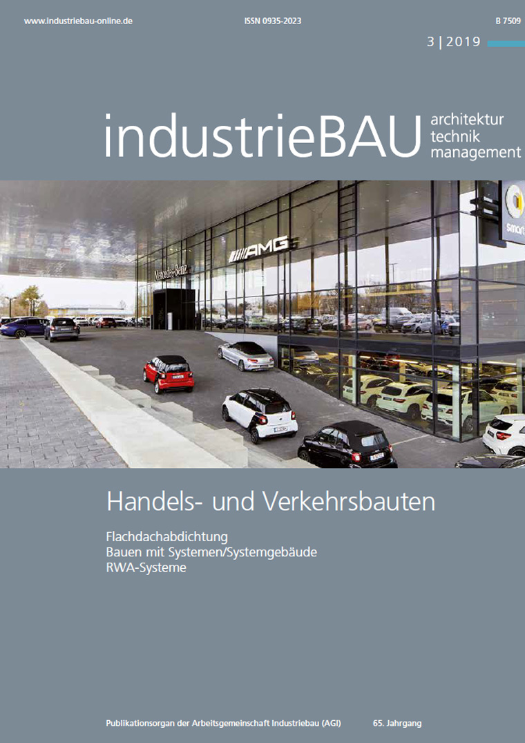 Presse Cover Industriebau